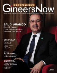 GineersNow Oil and Gas Leaders Magazine Issue 001