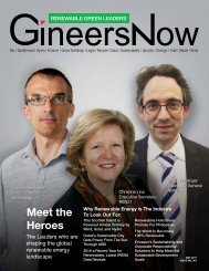 GineersNow Renewable Green Leaders Magazine Issue 001