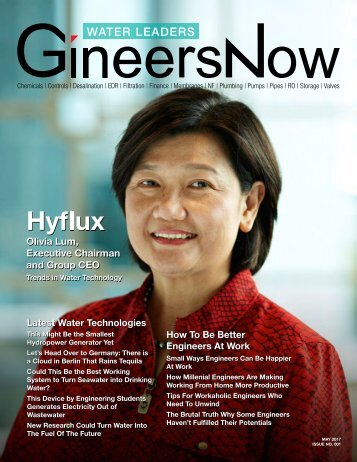 GineersNow Water Leaders Issue 001