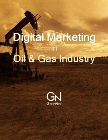Digital Marketing in the Oil & Gas Industry