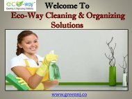 cleaning agencies in Montclair NJ