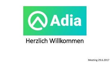 Adia - Präsentation HC 29.6.2017