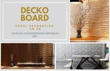 CATALOGO DECKO BOARD- TITAN DECKO - Junio 2017