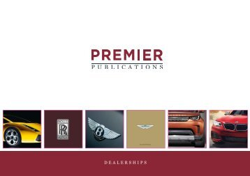 Premier Publications - Dealerships