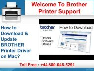 How to Download & Update BROTHER Printer Driver on Mac