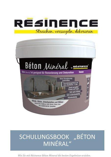 resinence beton mineral ausfuehrliche gebrauchsanweisung pdf. Black Bedroom Furniture Sets. Home Design Ideas