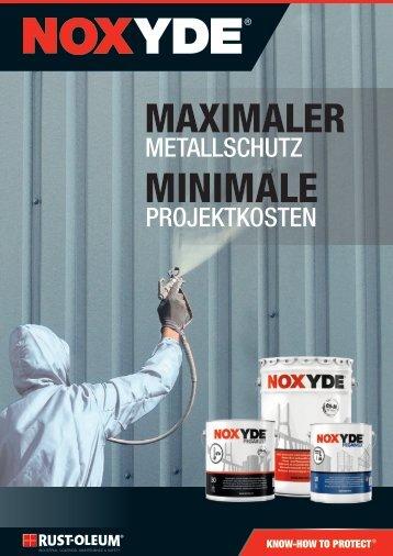 Noxyde-Maximaler-Metall-Rostschutz-Rust-Oleum-BROSCHUERE