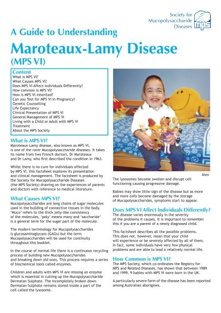 What Is Mps >> A Guide To Understanding Maroteaux Lamy Disease Mps Vi