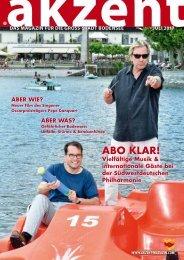 akzent Magazin Juli GB