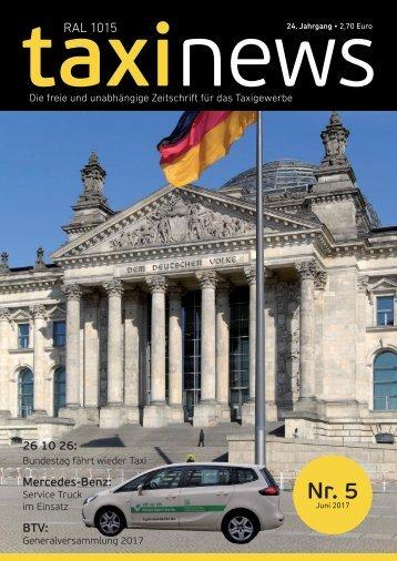 RAL 1015 taxi news Heft 5-2017