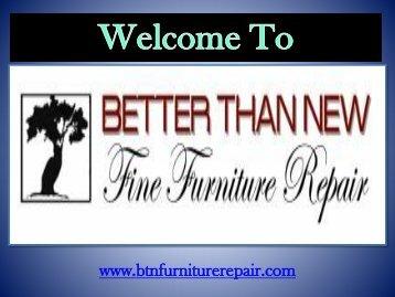 Furniture Repair Chandler | Better Than New