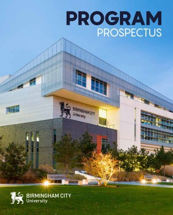 Prospectus_work progress