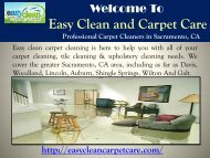 Professional Cleaning Sacramento, CA