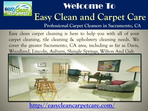 Professional Cleaning Sacramento, CA