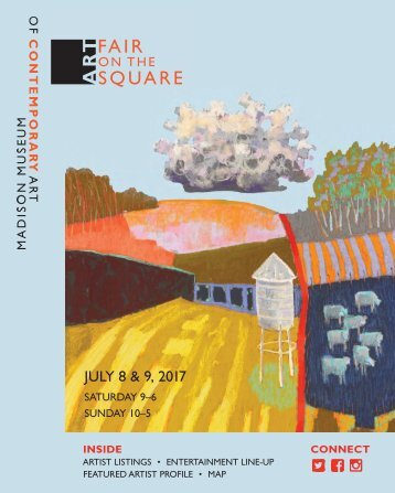 Art Fair on the Square 2017 program