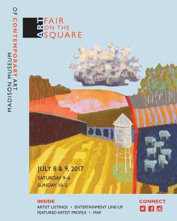 Art Fair on the Square 2017 program