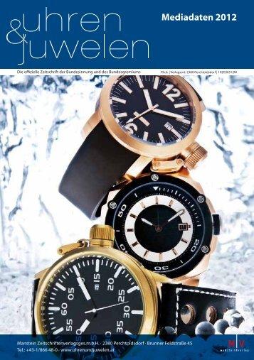 Mediadaten 2012 - Uhren&Juwelen