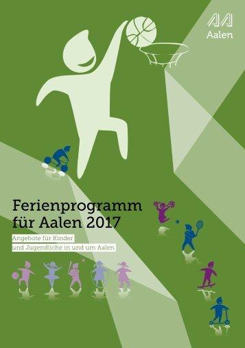 Ferienprogramm für Aalen 2017