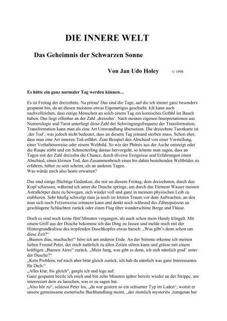 Helsing Jan Van Die Innere Welt