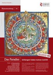 Museumszeitung Das Paradies Schlangen haben ... - Stift Admont