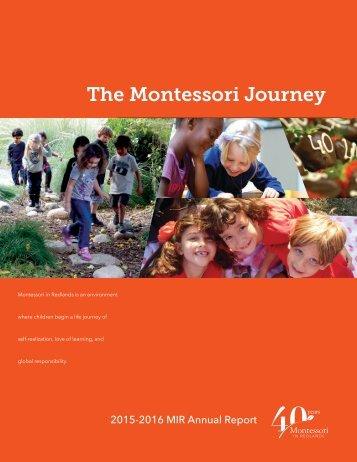 2016-2016 MIR Annual Report