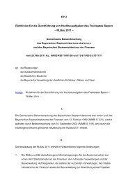 Richtlinien für die Durchführung von Hochbauaufgaben des ...