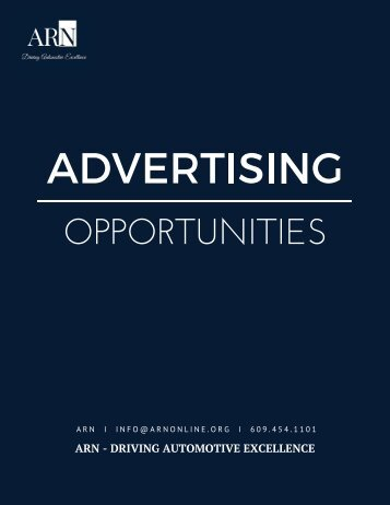 ARN Advertising Opportunities