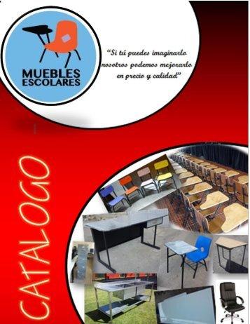 catalogo comercial muebles escolares