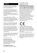 Sony HT-CT381 - HT-CT381 Consignes d'utilisation Norvégien - Page 2