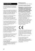 Sony HT-CT381 - HT-CT381 Consignes d'utilisation Hongrois - Page 2