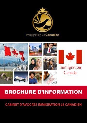 e-Brochure IMMIGRATION LE CANADIEN V2