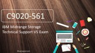 [Get $10] 100% Pass C9020-561 IBM Midrange Storage Technical Support V5 Real Exam Questions
