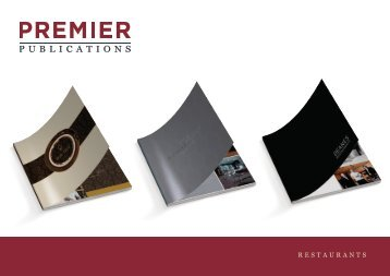 Premier Publications - Restaurants