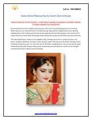 Indian Bridal Makeup Tips by Amrits Hair & Beauty