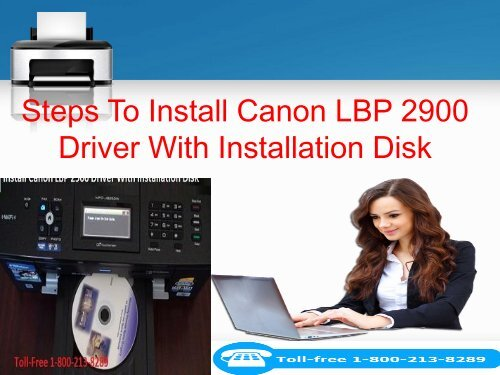 Steps To Install Canon LBP 2900 Driver With Installation Disk