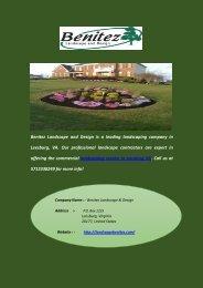Best Commercial Landscaping Services in Leesburg, VA