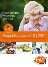 Produktkatalog WGP-Produktdesign