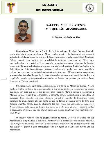 PT_SALETTE MULHER ATENTA AOS QUE SÃO ABANDONADOS_ Emerson 2