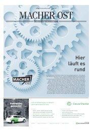 Macher Ost Juni 2017 | Eine Sonderausgabe der Leipziger Volkszeitung