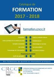 Catalogue de formation 2017-2018