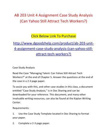 unit 9 assignment case study Writing case study assignment case study and swot analysis case study solution for mba then prepare an outline of a risk assessment project in your organisation or business unit or area within your organisation if you are facing for manage risk assessments case study help.