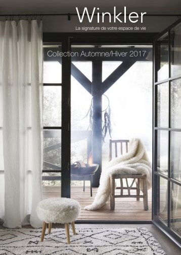 Catalogue Winkler Automne-Hiver 2017