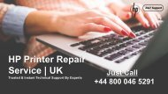 HP Printer Repair Service and Support | Just Dial +44-800-046-5291 UK