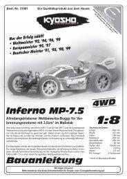 Inferno MP-7.5 - Kyosho