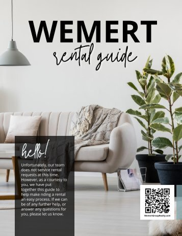 Wemert Group Realty - Rental Guide