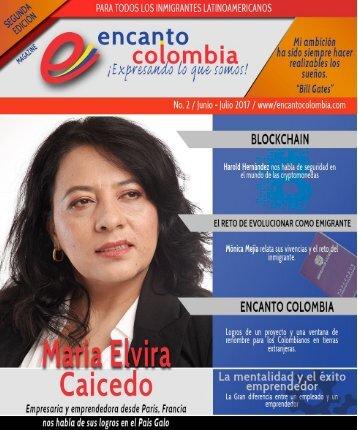 Encanto Colombia - Junio y julio 2017