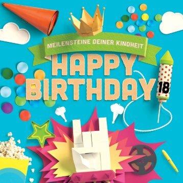 Blick ins Buch: Happy Birthday - Meilensteine Deiner Kindheit