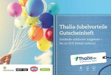 Thalia-Jubelvorteile