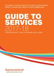 Guide to services 2017 - 18