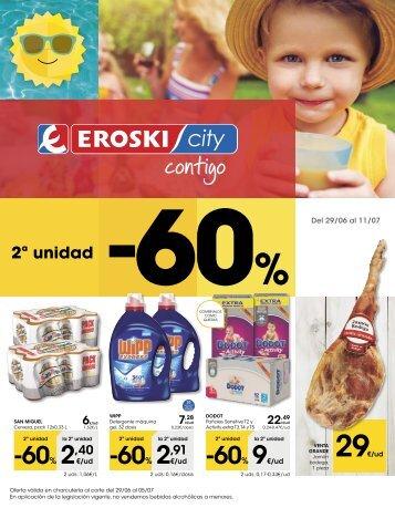 Folleto Eroski City del 29 de Junio al 11 de Julio 2017